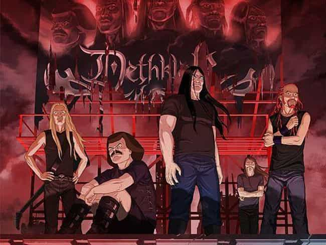 'Blazing Star' By Dethklok is listed (or ranked) 4 on the list Metal Songs About Fantasy Realms
