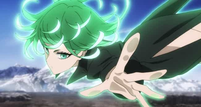 Tornado of Terror (Tatsumaki) is listed (or ranked) 2 on the list All S-Class Heroes In One Punch Man Ranked Best to Worst