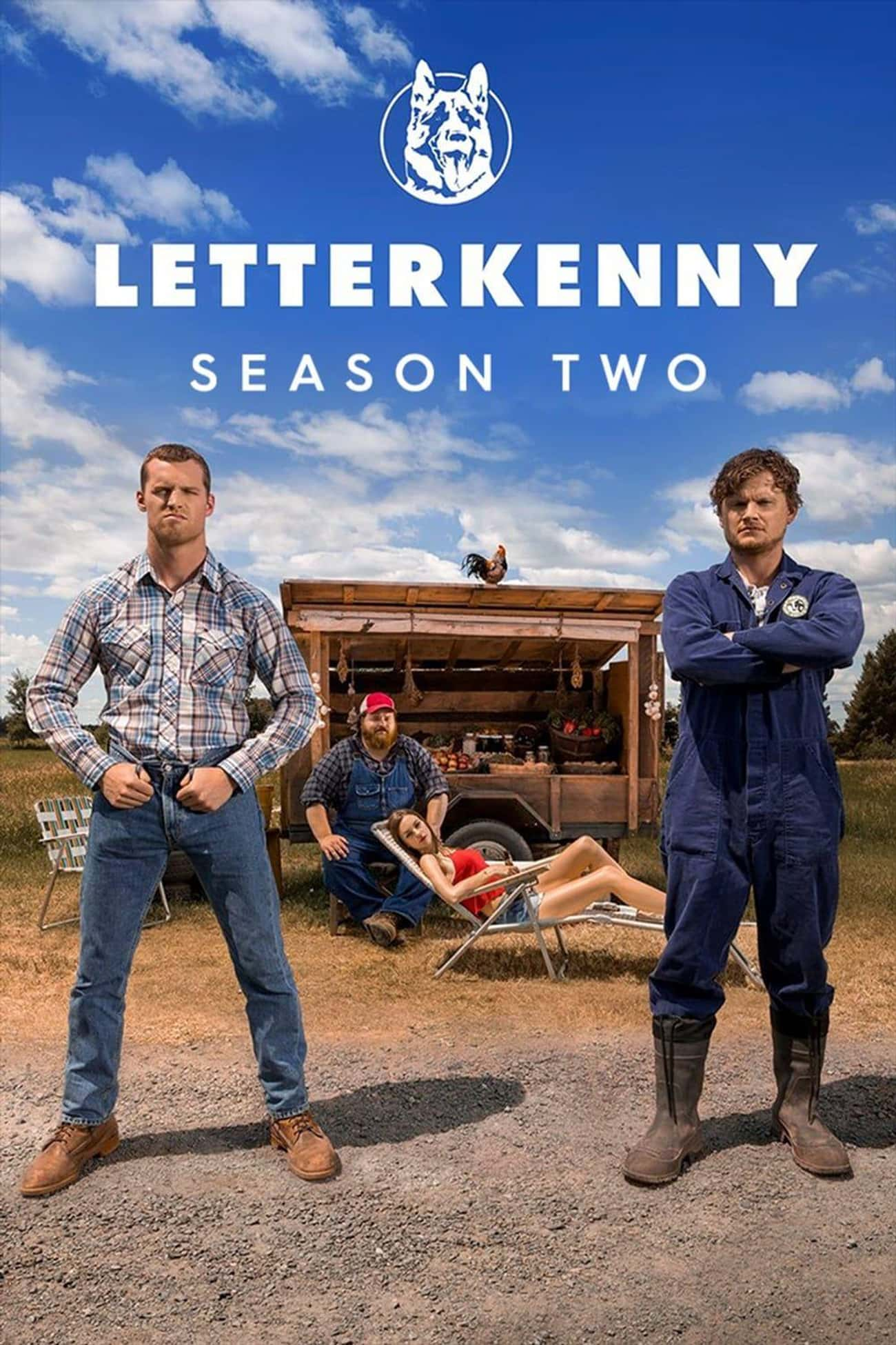 Letterkenny - Season 2 is listed (or ranked) 1 on the list Ranking The Best Seasons of 'Letterkenny'