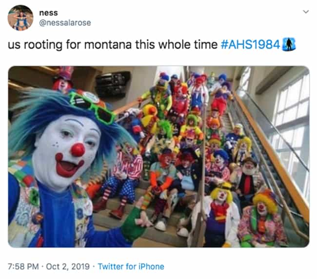 Fool Me Once is listed (or ranked) 2 on the list The 19 Best Twitter Reactions To Episode 3 Of 'American Horror Story: 1984'