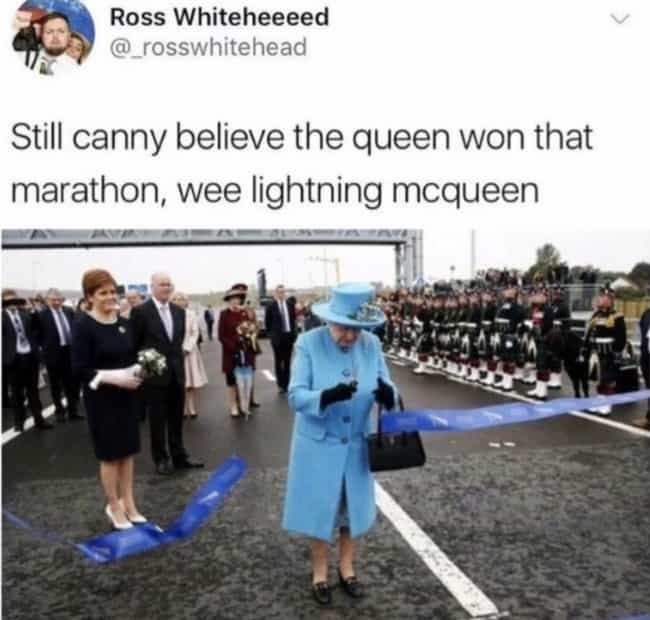 Lightning Lizzie is listed (or ranked) 3 on the list #ScottishPeopleTwitter Is A Thing, And It's Really Frickin' Funny