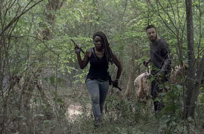A Group Sets Out To Look For C... is listed (or ranked) 2 on the list Everything That Happened In 'The Walking Dead' Season 10 Premiere: 'Lines We Cross'