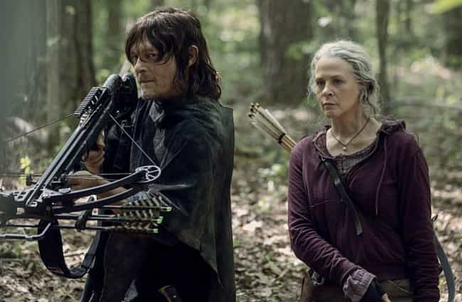 Daryl And Carol Talk About Run... is listed (or ranked) 3 on the list Everything That Happened In 'The Walking Dead' Season 10 Premiere: 'Lines We Cross'