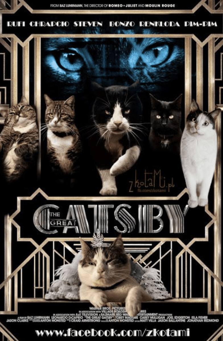 Random Cat Movie Posters For Films That Actually Seem Like They'd Be Pretty Good