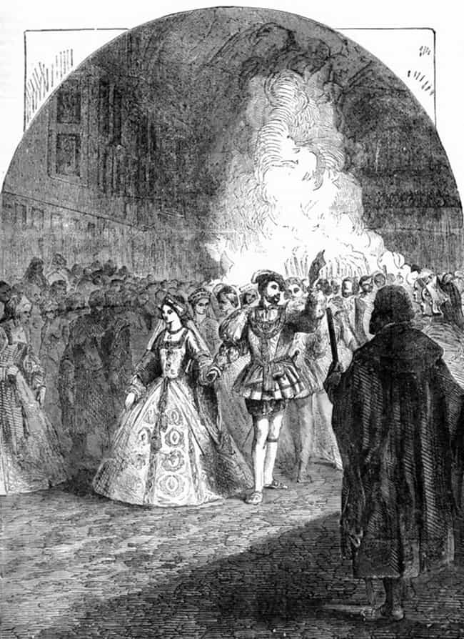 Henry VIII Was A Guest At Mary... is listed (or ranked) 3 on the list 12 Dramatic Facts About The Life Of Mary Boleyn, The Other Boleyn