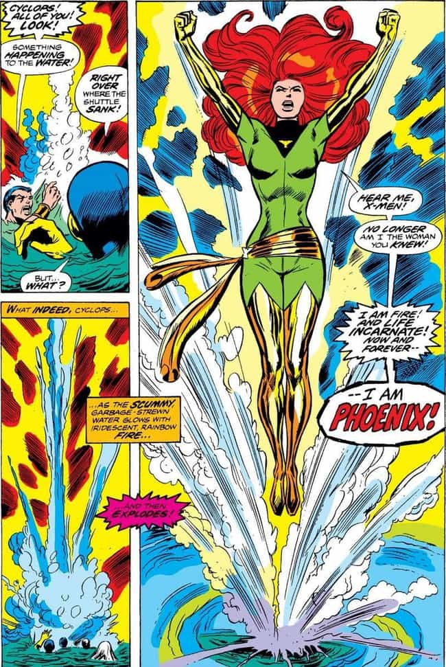 Jean Grey Rises Again As The P... is listed (or ranked) 3 on the list Just How Many Times Has Jean Grey Died And Come Back To Life, Anyway?
