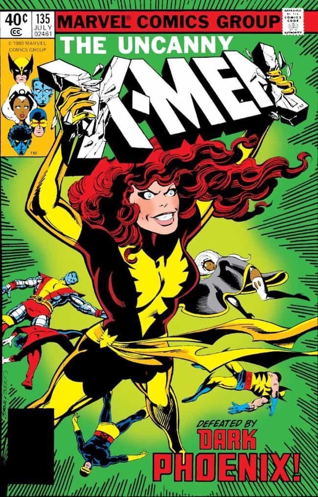 In Time, The Phoenix Goes Dark is listed (or ranked) 4 on the list Just How Many Times Has Jean Grey Died And Come Back To Life, Anyway?