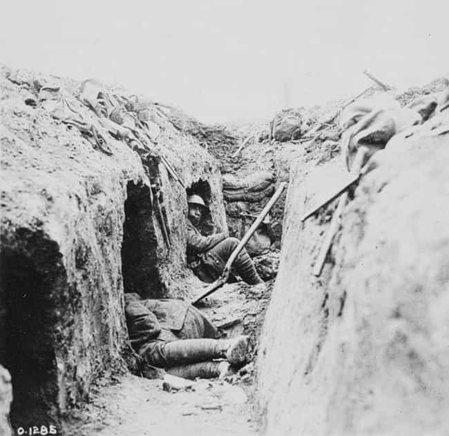 Since Baths And Laundrie... is listed (or ranked) 4 on the list What Was Hygiene Like For Soldiers In WWI Trench Warfare?