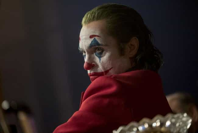 The 'Joker' Movie Is The Highe... is listed (or ranked) 1 on the list Things That Were A Thing: October 2019 Edition