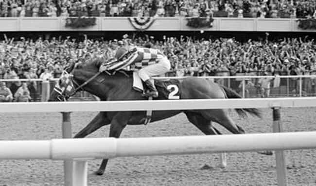 Secretariat On The Way T... is listed (or ranked) 4 on the list 16 Inspiring Photos Of Historical Record Setters