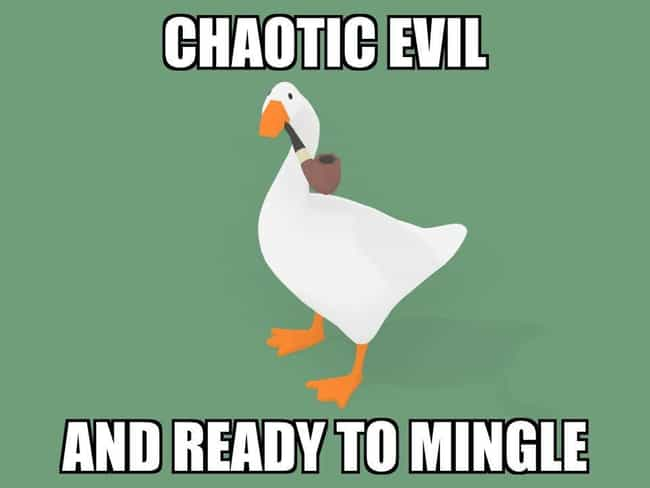Ready To Mingle is listed (or ranked) 4 on the list The 20 Best Untitled Goose Game Memes We Could Find