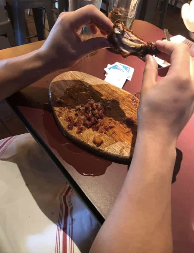 Gonna Need Another Napkin is listed (or ranked) 3 on the list 31 Heinous Pictures Of Restaurants That Need To Learn How To Use Plates Correctly