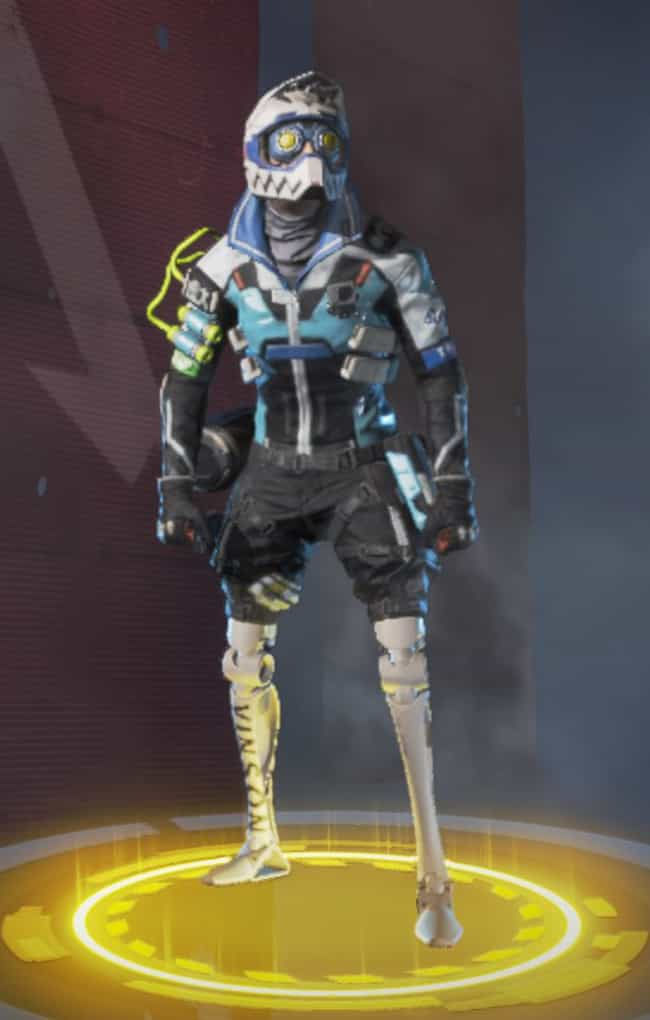 The Victory Lap is listed (or ranked) 4 on the list The Best Octane Skins In 'Apex Legends'