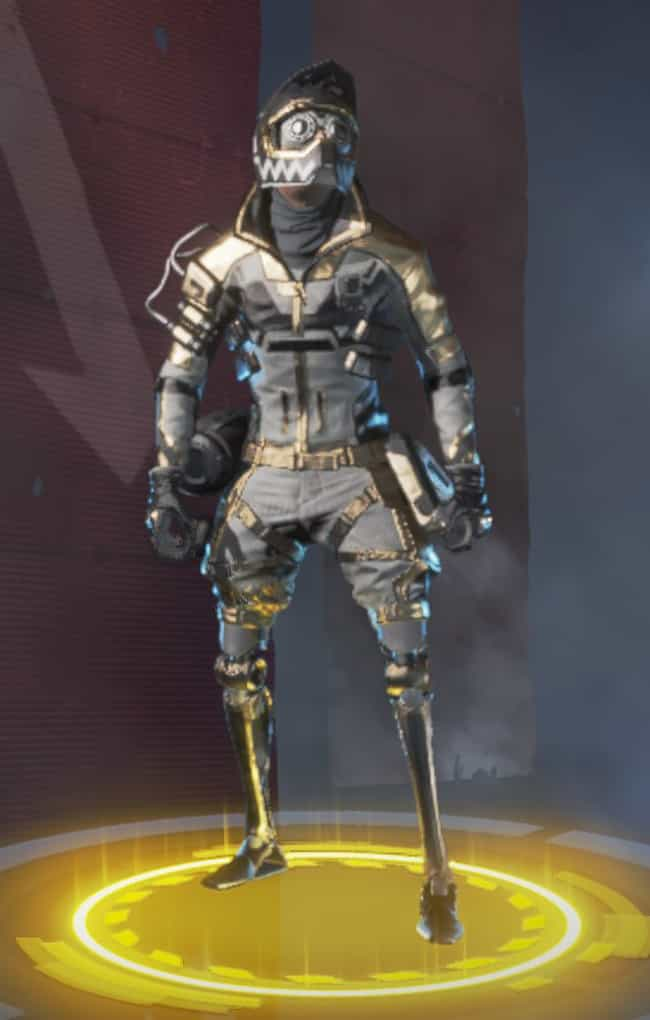 Gold Rush is listed (or ranked) 3 on the list The Best Octane Skins In 'Apex Legends'