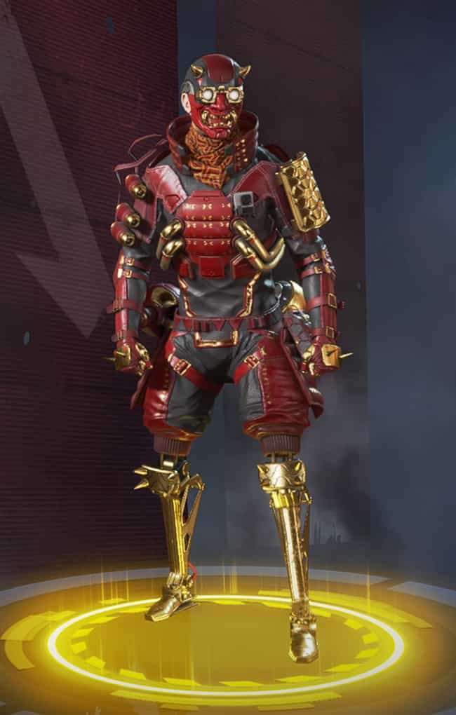 Red Shift is listed (or ranked) 2 on the list The Best Octane Skins In 'Apex Legends'