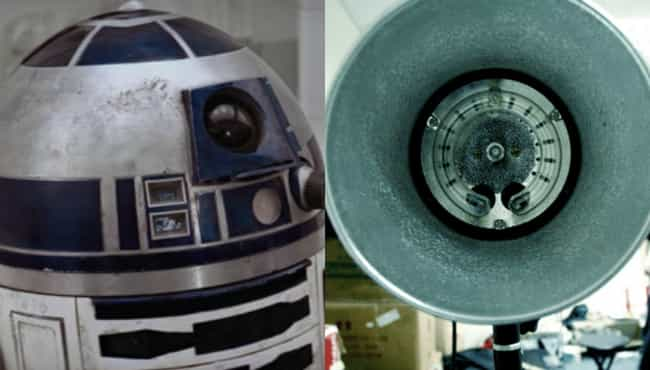 The Prototype R2-D2's Head Was... is listed (or ranked) 4 on the list Cheap Store-Bought Items Or Junk Used As 'Star Wars' Props