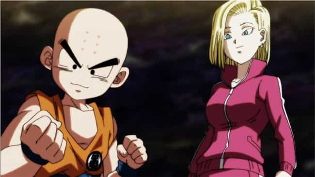 Krillin & Android 18 - 'Dragon... is listed (or ranked) 3 on the list 15 Powerful Anime Couples Who Could Kick Your Butt Together
