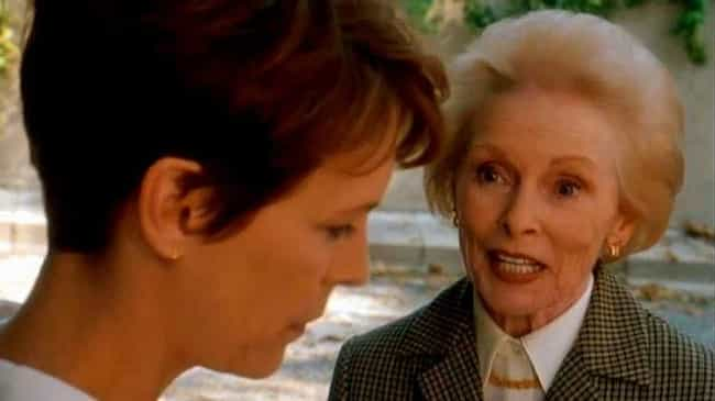 Leigh Makes A Cameo In 'Hallow... is listed (or ranked) 4 on the list The Ups And Downs Of Jamie Lee Curtis's Relationship With Her Mother, Janet Leigh