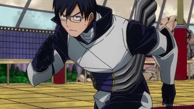 Tenya Iida - 'My Hero Academia... is listed (or ranked) 4 on the list The 15 Most Honorable Anime Characters of All Time