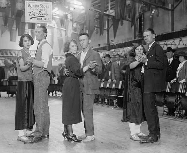 Dance Crazes And Dance Maratho... is listed (or ranked) 2 on the list How People In The Roaring Twenties Spent Their Free Time