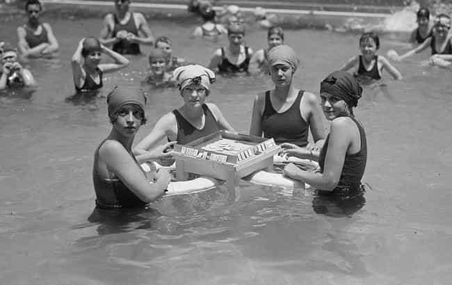 Mahjong And Other Board Games ... is listed (or ranked) 4 on the list How People In The Roaring Twenties Spent Their Free Time