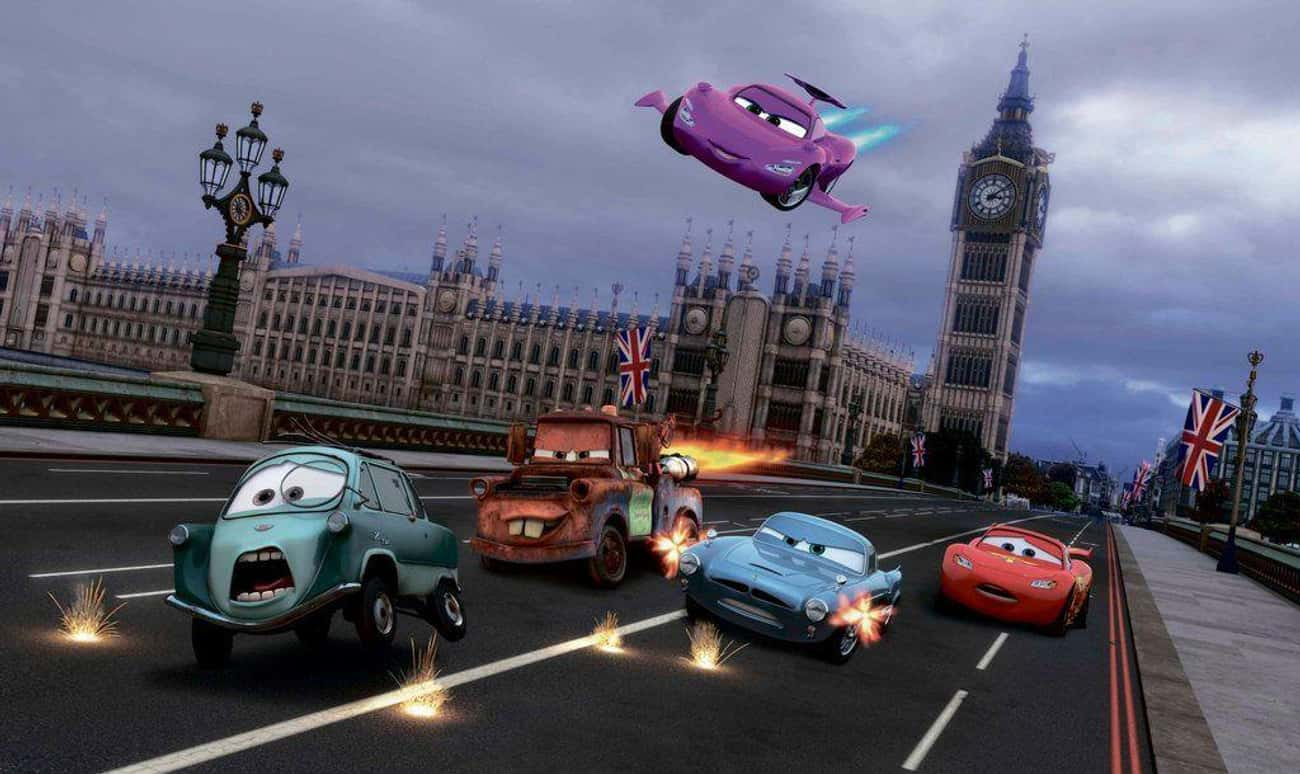 'Cars 2' Never Happened is listed (or ranked) 3 on the list Fascinatingly Complex Fan Theories About The 'Cars' Universe