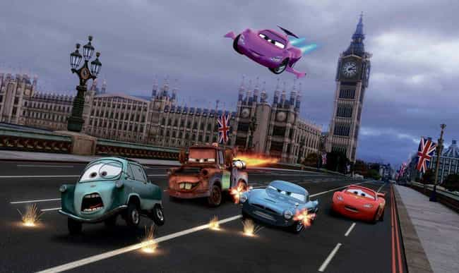 'Cars 2' Never Happened is listed (or ranked) 2 on the list Fascinatingly Complex Fan Theories About The 'Cars' Universe