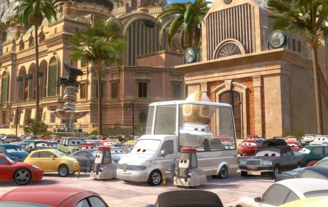 The Cars Have Organized Religi... is listed (or ranked) 1 on the list Fascinatingly Complex Fan Theories About The 'Cars' Universe