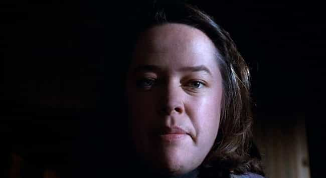 Annie Does More Than Hobble Pa... is listed (or ranked) 1 on the list Behind The Scenes Of Annie Wilkes Hobbling Paul Sheldon In 'Misery'