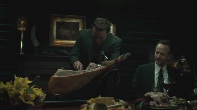 Jamón Ibérico is listed (or ranked) 3 on the list The Most Appetizing Meals From 'Hannibal' You Might Actually Try