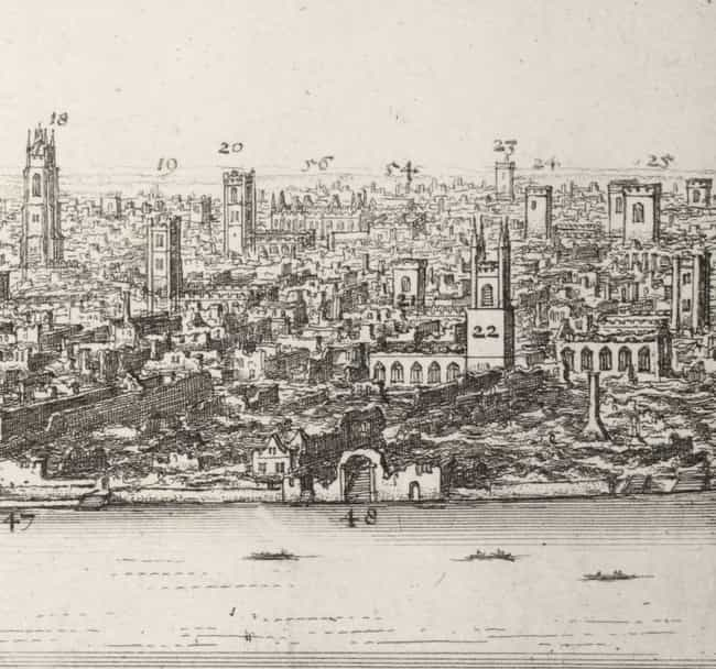65,000 Homeless People Dispers... is listed (or ranked) 2 on the list What Happened Immediately After London Was Destroyed By The Great Fire Of 1666?