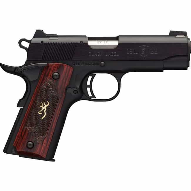 Browning® 1911 Compact .22 LR ... is listed (or ranked) 1 on the list 12 Best Starter Guns For Beginners