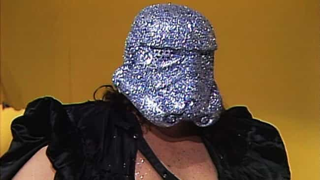 Shockmaster is listed (or ranked) 4 on the list The Dumbest Wrestling Costumes Of All Time