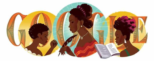 Maria Firmina dos Reis is listed (or ranked) 1216 on the list Every Person Who Has Been Immortalized in a Google Doodle
