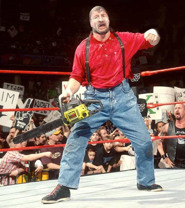 Chainsaw Charlie is listed (or ranked) 3 on the list The Dumbest Wrestling Costumes Of All Time