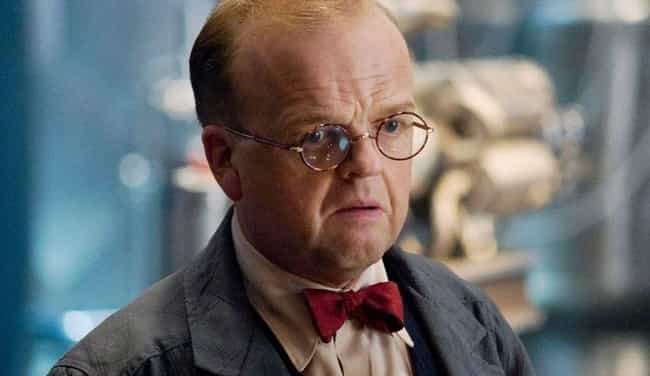 Arnim Zola is listed (or ranked) 4 on the list The Weakest Characters In The MCU, Ranked