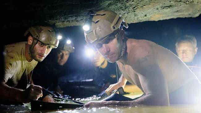 The Filmmakers Were In A Race ... is listed (or ranked) 1 on the list A Look Behind The Scenes Of 'The Descent,' The Classic Claustrophobic Nightmare Film