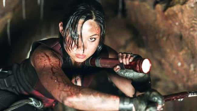 The Cast Developed Intricate B... is listed (or ranked) 4 on the list A Look Behind The Scenes Of 'The Descent,' The Classic Claustrophobic Nightmare Film