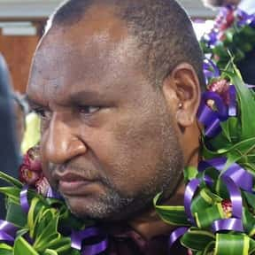 James Marape is listed (or ranked) 2 on the list Famous People From Papua New Guinea
