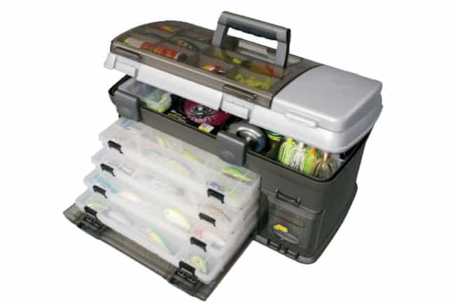 Tackle Box is listed (or ranked) 2 on the list 12 Must-Have Pieces Of Equipment For Your Next Fishing Trip