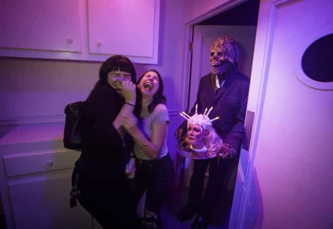 When That's Not What You Order... is listed (or ranked) 3 on the list 35 Funny Haunted House Photos That Will Make You LOL At Someone Else's Terror