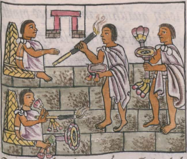 They Used Perfumes And Deodora... is listed (or ranked) 4 on the list What Was Hygiene Like In The Aztec Empire?