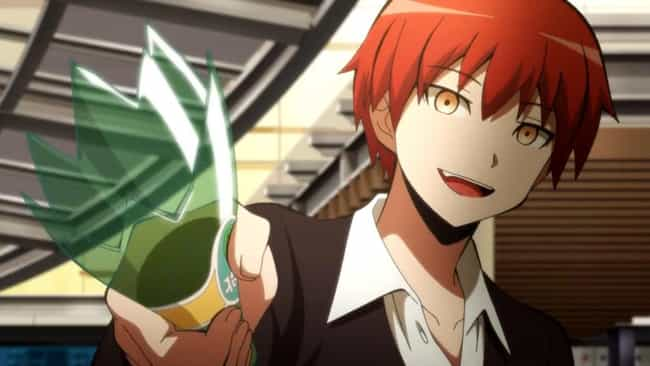 Karma Akabane - 'Assassination... is listed (or ranked) 1 on the list 15 Anime Heroes Who Are Complete Sociopaths