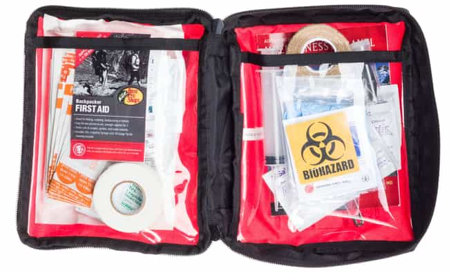 First Aid Kit is listed (or ranked) 4 on the list 14 Essential Camping Equipment/Accessories