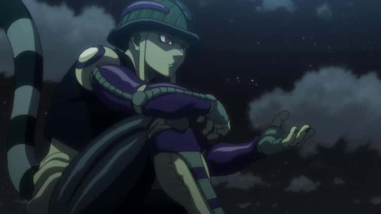 Mereum Was Terrifying From Birth In 'Hunter X Hunter'