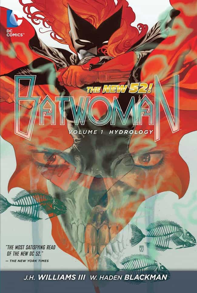 Hydrology is listed (or ranked) 3 on the list The Best Storylines Every Batwoman Fan Should Read