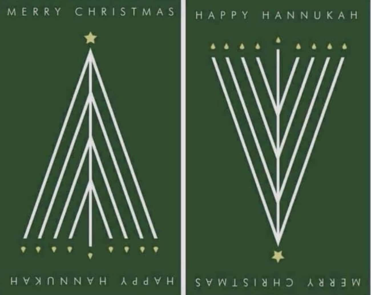 Happy Holidays is listed (or ranked) 4 on the list 21 Brilliant Ad Designs That Cleverly Make Their Point