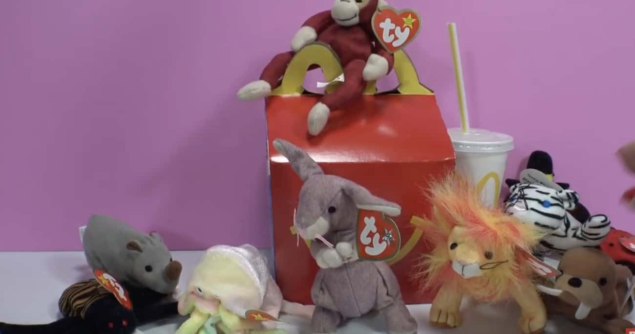 Teenie Beanie Babies is listed (or ranked) 4 on the list 26 McDonald's Happy Meal Toys From the '90s You Completely Forgot About Until Now