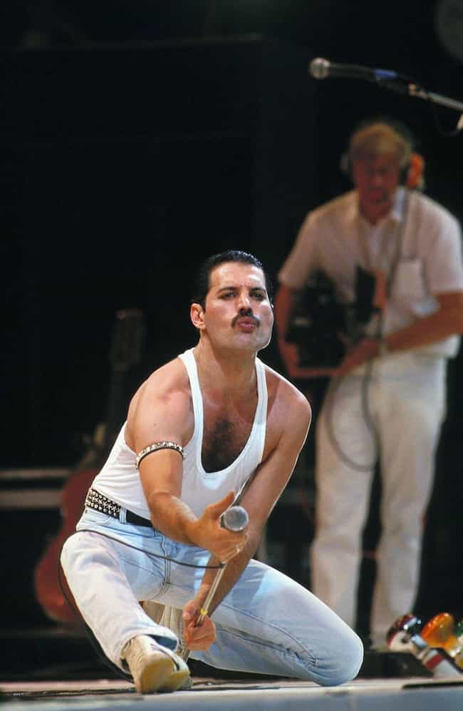 Mercury Wanted His Live ... is listed (or ranked) 2 on the list Secrets Behind Freddie Mercury's Wardrobe