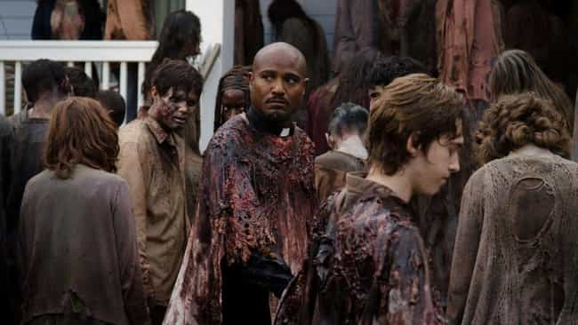The Crew Uses Different Shades... is listed (or ranked) 3 on the list Special Effects Secrets From Behind The Scenes Of 'The Walking Dead'